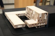 Living in a maritime container Maquette Architecture, Architecture Drawings, Concept Architecture, School Architecture, Amazing Architecture, Interior Architecture, Contemporary Architecture, Social Housing Architecture, 3d Modelle