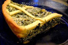 TORTA RUSTICA CICORIA E RICOTTA DI BUFALA  http://blog.giallozafferano.it/saporidicasamia/torta-rustica-cicoria-e-ricotta-di-bufala/