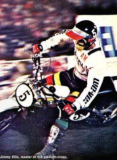 1976 Superbown of Motocross Jimmy Ellis
