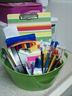 travels from room to room Homework Caddy, Homework Organization, Taylormade, Blog, Diy, Bricolage, Blogging, Do It Yourself, Homemade
