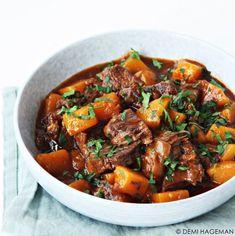Vegetable Recipes, Beef Recipes, Cooking Recipes, Healthy Recipes, I Love Food, Good Food, Healthy Slow Cooker, Comfort Food, Happy Foods
