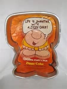 1978 Wilton Ziggy Cake Pan 2105 5053 Vintage Character Birthday Party