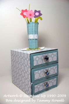 Stampin' Up!  Matchbox  Tammy Howell