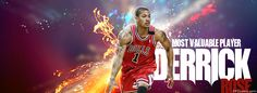 Chicago Bulls Derrick Rose Facebook Covers