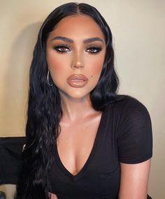Dope Makeup, Glam Makeup Look, Edgy Makeup, Glamour Makeup, Baddie Makeup, Makeup Eye Looks, Flawless Makeup, Gorgeous Makeup, Pretty Makeup
