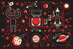 Red Button Brew on Behance