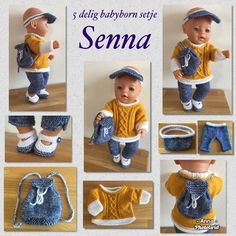 Knitted Doll Patterns, Knitted Dolls, Barbie, Baby Born, Paper Dolls, Dress Making, Baby Dolls, Doll Clothes, Baby Shoes