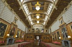 Windsor Castle ~ Waterloo Room