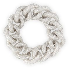 Leo Pizzo 18k White Gold Diamond Chain Link Bracelet https://api.shopstyle.com/action/apiVisitRetailer?id=494818860&pid=uid8721-33958689-52