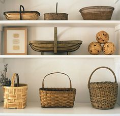 Need to work out a display like this for my baskets.
