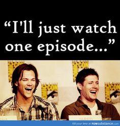 riiiight - Supernatural - Sam Winchester, Dean Winchester - Jared Padalecki, Jensen Ackles LMAO!