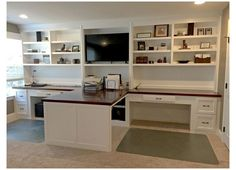 Home Office Space, Home Office Desks, Home Office Furniture, Office Decor, Office Ideas, Office Setup, Office Organization, Ikea Office, Double Desk Office