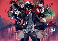 Persona 5, Ren Amamiya, Shin Megami Tensei Persona, Akira Kurusu, Deadman Wonderland, Go To Sleep, Super Smash Bros, Vulnerability, Identity