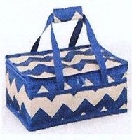 Navy & Khaki Insulated Casserole Carrier $20