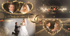 Wedding Package • After Effects Template #intro #slideshow • Download ➝ https://videohive.net/item/wedding-package/18844092?ref=pxcr