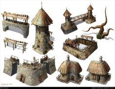 Fantasy props set by Ognian Bonev