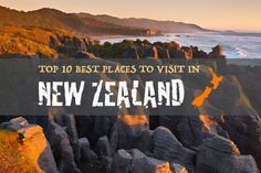 New Zealand has a wealth of national treasures and holiday destinations worth exploring which can make planning your travel itinerary a little difficult.The perfect road trip of New Zealand wouldn't be complete without visiting the North and South Island. Therefore, I've decided to outline what I believe to be the best places to visit in New Zealand.