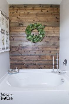 Modern Rustic Farmhouse Style Master Bathroom Ideas 32