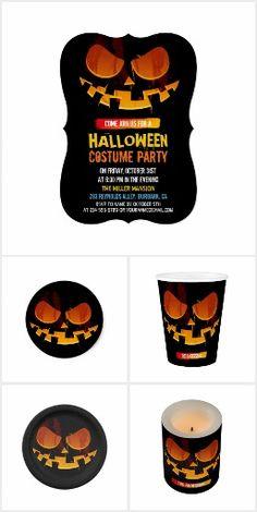 Halloween Party Ideas: Wicked Jack-O-lantern