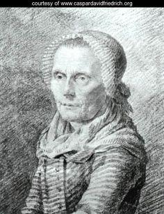 """""""Mother Heiden"""" 1798-1802 - Caspar David Friedrich - www.caspardavidfriedrich.org"""