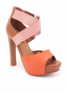 $27.50 two tone heels // go jane