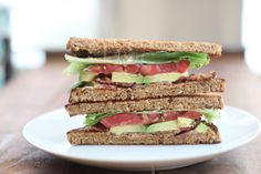 Avocado BLT with Chipotle Mayo