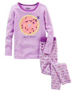 Toddler Girl 2-Piece Snug Fit Cotton PJs from OshKosh B'gosh. Shop clothing & accessories from a trusted name in kids, toddlers, and baby clothes.