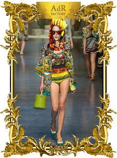 BRAZILIAN Looks S/S 2013 on Alessandra AMBROSIO