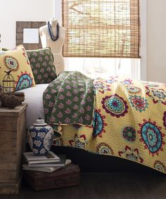 Yellow Adrianne Quilt - warm and happy