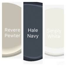 Image result for revere pewter with navy blue