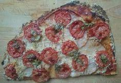pizza túróból és zabpehelyből