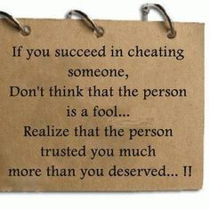 Cheating is not a game or a puzzle to be proud of. Honesty is valuable.