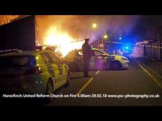 Rambling Tog: Haresfinch United Reform Church on Fire