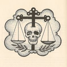 This convict tattoo represents an 'Orthodox' - a thief who has never transgressed the convicts' laws and rules. He acts as a judge in settling accounts between thieves in prisons and camps, but also in the outside world.