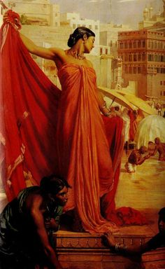 The Athenaeum - Bathing in the Ganges (Valentine Cameron Prinsep - )