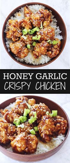 This Honey Garlic Crispy Chicken was honestly the bomb dot com. The chicken: tender on the inside, crispy on the outside. The sauce: Rich, sweet, and subtly salty and garlicky. The chicken and the …