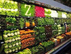 Things Organized Neatly - Supermarket Produce Section