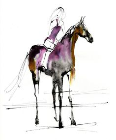 yoco-fashion-illustration horse