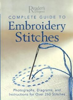 decorative stitches by hand | EMBROIDERY STITCH INSTRUCTIONS - EMBROIDERY DESIGNS