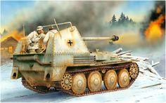 Panzerjager Marder III Ausf. M 38(t) Sd.kfz. 138 Pak 40