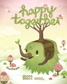 """Be """"happy together"""" with Meomi!"""