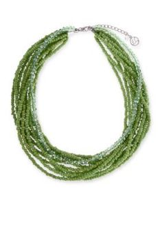 Erica Lyons  Seed Bead Necklace