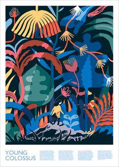 Blink Art - Robert F Hunter - Young Colossus Poster