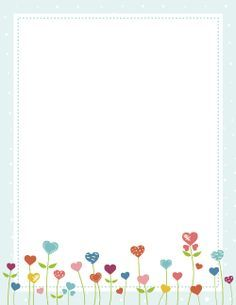 Free heart flower border templates including printable border paper and clip art versions. File formats include GIF, JPG, PDF, and PNG. Page Boarders, Boarders And Frames, Free Printable Stationery, Free Printables, Printable Labels, Scrapbooking, Scrapbook Supplies, Printable Border, Create Flyers