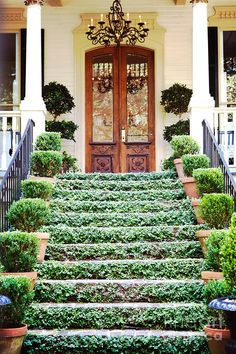 Outdoor stairs ideas entrance curb appeal 22 Ideas for 2019 Porches, Stairway To Heaven, Architecture, Stairways, My Dream Home, Curb Appeal, Exterior Design, Outdoor Gardens, Beautiful Homes