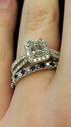 Halo Ring With Wedding Band - http://weddingku.casa/halo-ring-with-wedding-band.html