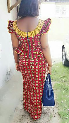African Dresses For Women, African Print Dresses, African Attire, African Wear, African Women, African Blouses, African Lace, African Fashion Ankara, African Print Fashion