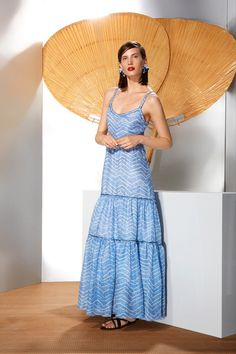 RESORT 2014 Missoni /  In the grand(ish) tradition of Resort, Missoni dreamed of the Riviera: great French actresses like Jeanne Moreau and Brigitte Bardot sunning themselves in Saint-Tropez. This was a collection as frothy as the seashore.