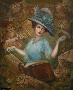 THE HISTORIAN BY ANNIE STEGG (the Owls make it look like a Harry Potter picture. )
