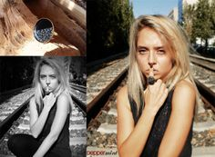 Oversized Vintage Ring Black & Floral https://www.facebook.com/peppermint.jewels